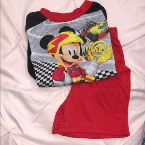 Disney Mickey Mouse PJ Set